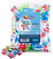 Airheads Bulk - Bulk Candy - Air Heads Mini Bars Variety Pack, Watermelon, Cherry, Blue Raspberry, Mystery, Chewy Fruit Candies 3 lb Party Bag, Family Size
