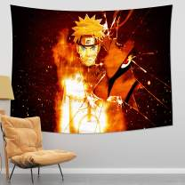 MEWE Anime Tapestry Anime Tapestry Wall Hanging for Bedroom Living Room Anime Gifts 50x60in