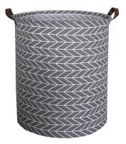 CLOCOR Toy Large Storage Bin-Cotton Storage Basket-Round Gift Basket with Handles for Toys,Laundry,Baby Nursery(Arrowhead)