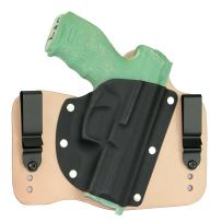 FoxX Holsters Heckler & Koch HK VP9sk in The Waistband Hybrid Holster Tuckable, Concealed Carry Gun Holster