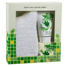 Relaxing Spa Bath Gift Set For Women With Body Lotion, Bath Salts And Super Soft Cozy Socks In Cucumber Melon Fragrance At-Home Spa Relaxation Kit, Perfect gift Set Self Care Package for Women