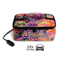 Hot Logic Food Warming Tote 12V, Lunch, Paisley