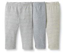 Moon and Back by Hanna Andersson Baby/Toddler Girls' 3-Pack Organic Cotton Legging