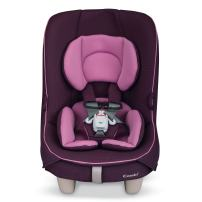 Combi Coccoro Streamlined Lightweight Convertible Car Seat | 3 Across In Most Vehicles | Ideal for Compacts | Quick Install | 50% Lighter Than Other Leading Brands | Tru-Safe Impact Protection | Grape