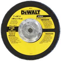 DEWALT DW8379 7-Inch by 5/8-Inch-11 120g Type 27 HP Flap Disc