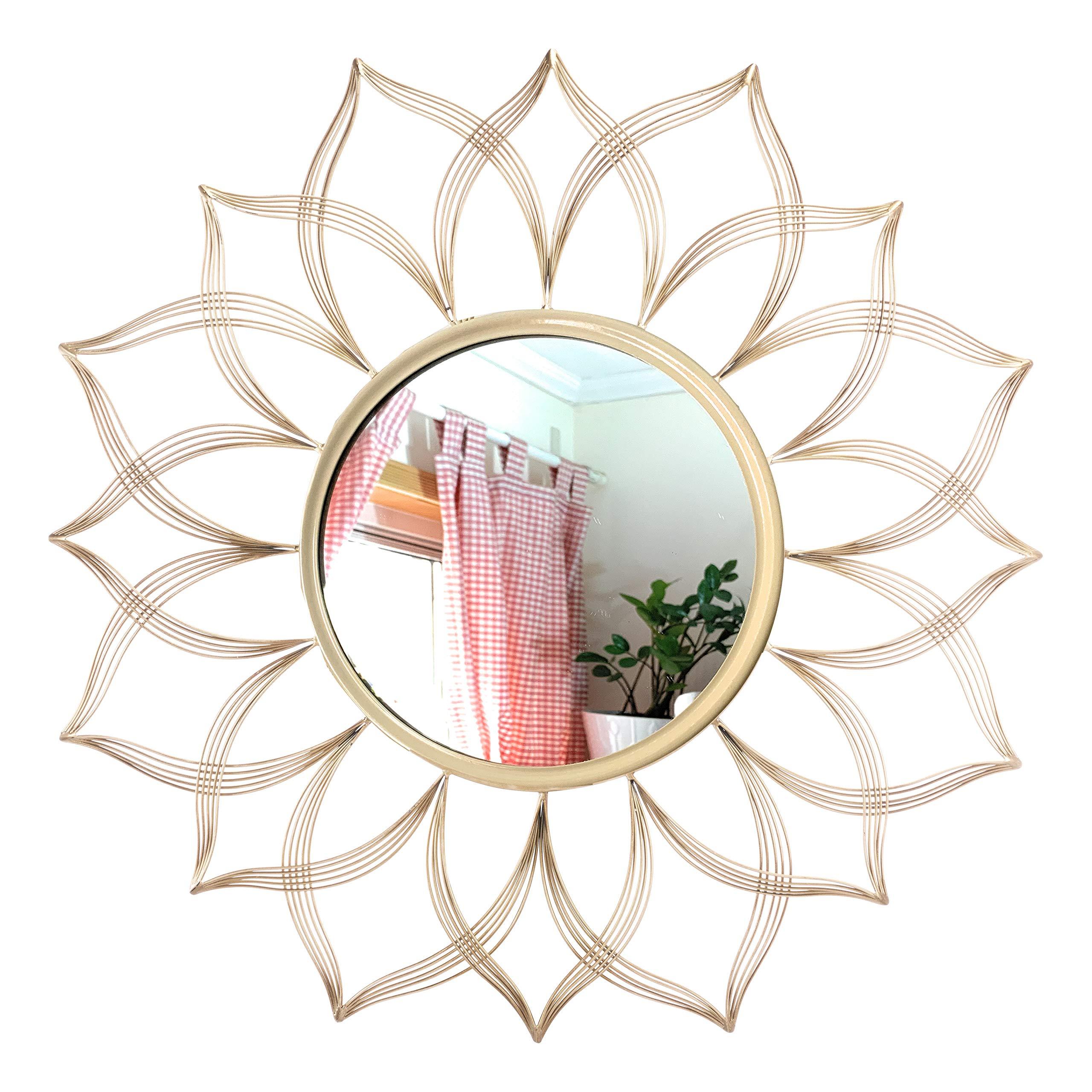 Sunburst Wall Mirror (Sunflower)