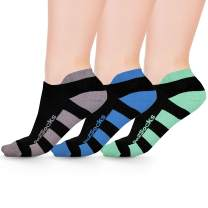 Go2 Compression Running Socks | Athletic Low Show Ankle Socks for Men and Women