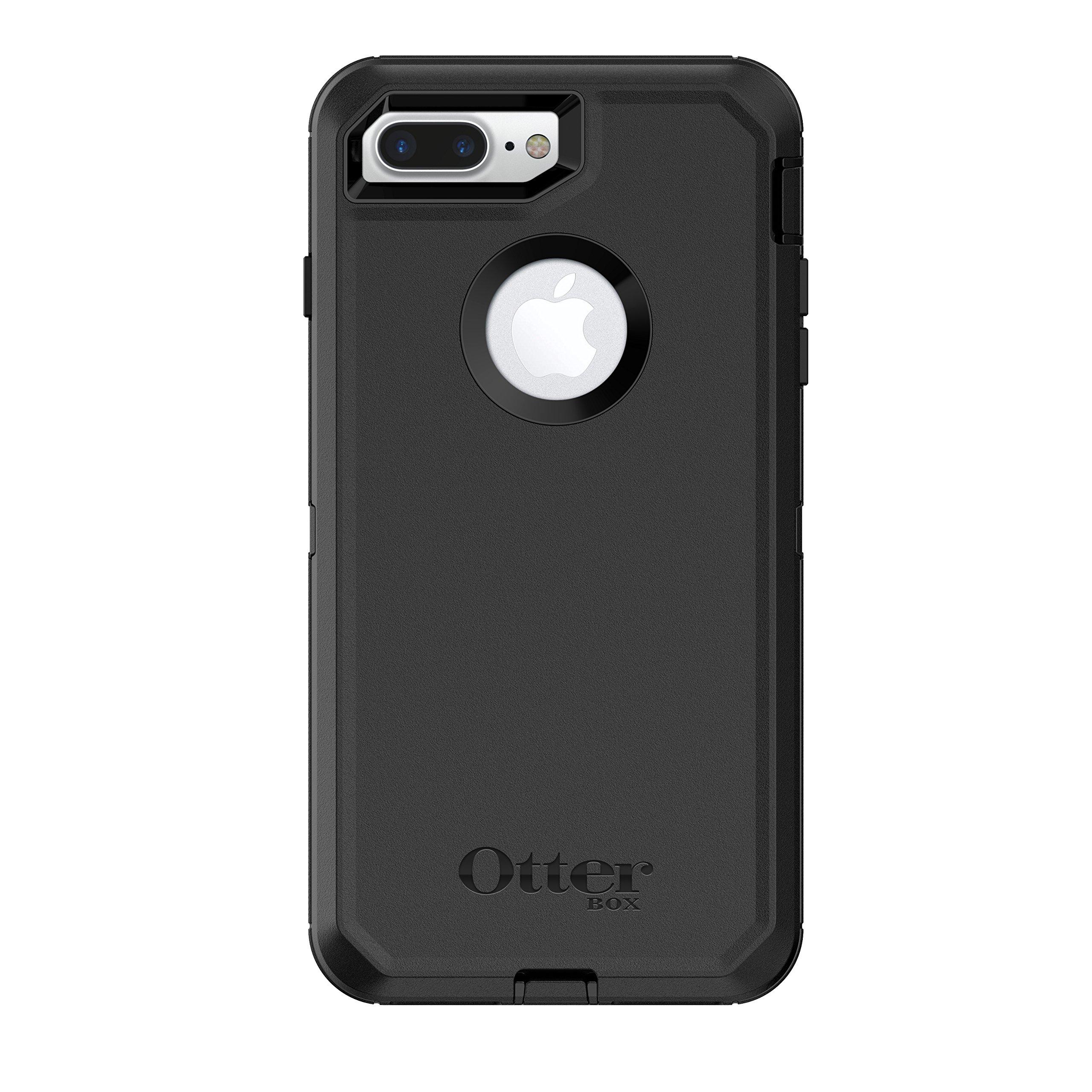 Otterbox 77-54041 Defender Series Case for Iphone 8 Plus & Iphone 7 Plus   - Black