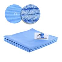 """Streak Free Glass Cloth(16""""x16"""") The 003 Car Glass Towel. Pack of 3. for Auto Car Detailing. Microfiber Wash Cloth, LINT-Free, No Residue I Hate DEATAILING"""