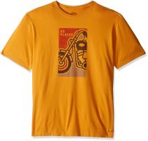 Life is Good Men's Go Places Motorcycle Crusher Tee