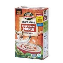 EnviroKidz Organic Gluten-Free Instant Hot Oatmeal, Brown Sugar Maple, 6 Count