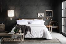 Moon's Sleepwares / Premium / [ California King Size 100% Pure Long Grade Mulberry Silk ] Silk Filled Comforter (Summer) (94 X 108 Inches/240 X 275 cm) SK240x275-1