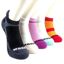 MOHAIR Low-Lip Socks, 75% Natural Fiber Content, Blister Resist, Cushioned, Ideal for Running, Golf or General Purpose