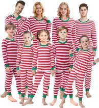 Matching Family Pajamas Christmas Boys and Girls Red Striped Jammies Baby Clothes Mum and Me Pjs Women Men