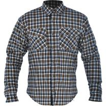 Oxford Men's Kickback Kevlar Shirt (Khaki/White, X-Large/44)