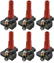 ENA Pack of 6 Ignition Coil Compatible with 2001-2009 Subaru Outback 2008 2009 Legacy Tribeca 2006 2007 B9 Tribeca H6 3.0L 3.6L C1326 UF287 UF-287