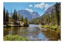 Rocky Mountain National Park, Colorado - Loch Lake 9001227 (Premium 1000 Piece Jigsaw Puzzle for Adults, 20x30, Made in USA!)