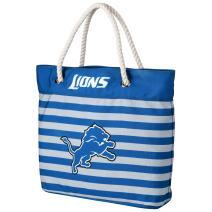 FOCO NFL Unisex-Adult Nautical Stripe Tote Beach Bag