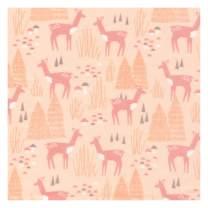 Organic Caboose Organic Cotton Nursing Pillow Cover- Natural and Print Options (Roam Free)