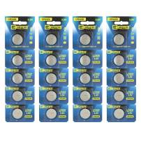 EEMB CR2450 Battery- Button Coin Cell Lithium Battery 3 V Not Rechargeable Battery UL Certified Perfect for Watches, Car Key Remotes, Alarm Clock Toys (20PCS)