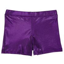HDE Gymnastics Shorts for Girls Dance Short Glitter Sparkle Tumbling Bottoms