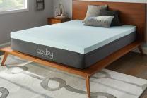 """Bedsy Sleep 3"""" Gel Memory Foam Mattress Topper, Soft, Full"""