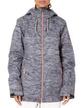 Roxy Snow Junior's Valley Hoodie Jacket