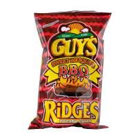 Guys Sweet BBQ Chips with Ridges– The Sweet Mesquite Barbeque Potato Chip w/Legendary Taste – Super Seasoned Barbeque Chips Make Tasty Guy Snacks, Bulk Office Snacks 15 (8 oz Bags)