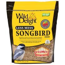 Wild Delight Less Mess Songbird Food, 5 lb