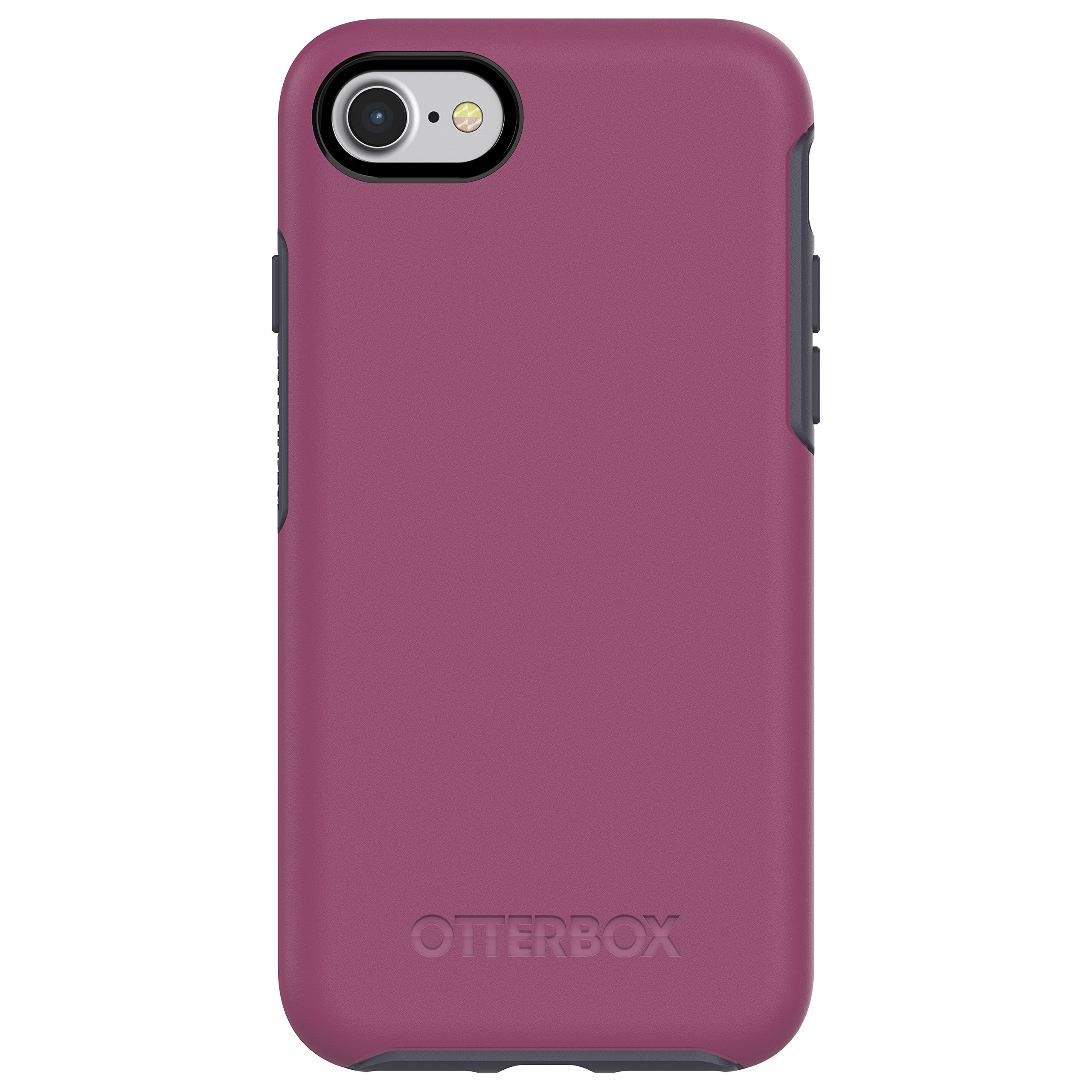 OtterBox SYMMETRY SERIES Case for iPhone SE (2nd gen - 2020) and iPhone 8/7 (NOT PLUS) - Retail Packaging - MIX BERRY JAM (BATON ROUGE/MARITIME BLUE)
