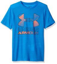 Under Armour Boys Hybrid Big Logo T-Shirt
