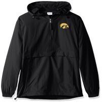 Champion NCAA mens Ncaa Men's Half Zip Front Pocket Packable Jacket