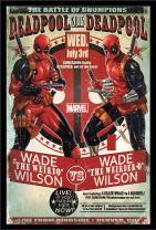 Trends International Wall Poster Deadpool Chumpions, 22.375 x 34