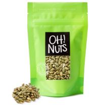 Pumpkin Seeds Roasted Unsalted, Pepitas Roasted Unsalted Great for Healthy Snacking or Salad Toppings No Shell 2 Pounds in a Resealable Bag - Oh! Nuts