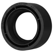 """Charlotte Pipe 3"""" X 2"""" Flush Bushing Pipe Fitting - (Hub x Spigot) Schedule 40 ABS DWV (Drain, Waste and Vent) Durable, Easy to Install, and High Tensile for Home or Industrial Use (Single Unit)"""