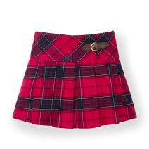 Hope & Henry Girls' Pleated Woven Skirt