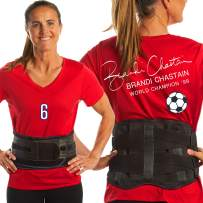 Lower Back Brace by FlexGuard Support - Lumbar Support Waist Backbrace for Back Pain Relief - Compression Belt for Men and Women - Back Braces for Sciatica, Scoliosis and Herniated Disc (XL)