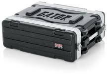 "Gator Cases Lightweight Molded 3U Rack Case with Heavy Duty Latches; Shallow 14.25"" depth, 3U (GR-3S)"