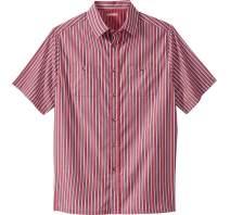 KingSize Men's Big & Tall Striped Short-Sleeve Sport Shirt