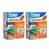 TERRO T1806SR 2-Pack Outdoor Liquid Ant Baits-12 Traps, 2 Pack, Clear