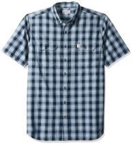 Carhartt Men's Big and Tall Big & Tall Fort Plaid Short Sleeve Shirt