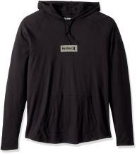 Hurley Men's Premium Long Sleeve Graphic Tshirt Hoodie