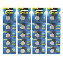 EEMB CR2032 Battery- Button Coin Cell Lithium Battery 3 V 210 mAh Replacement Battery Perfect UL Certified for Watches, Car Key Remotes, Alarm Clock Toys (20PCS)