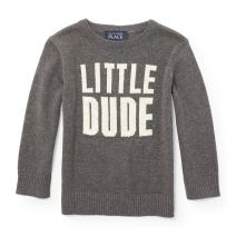 The Children's Place Boys' Intarsia Sweater