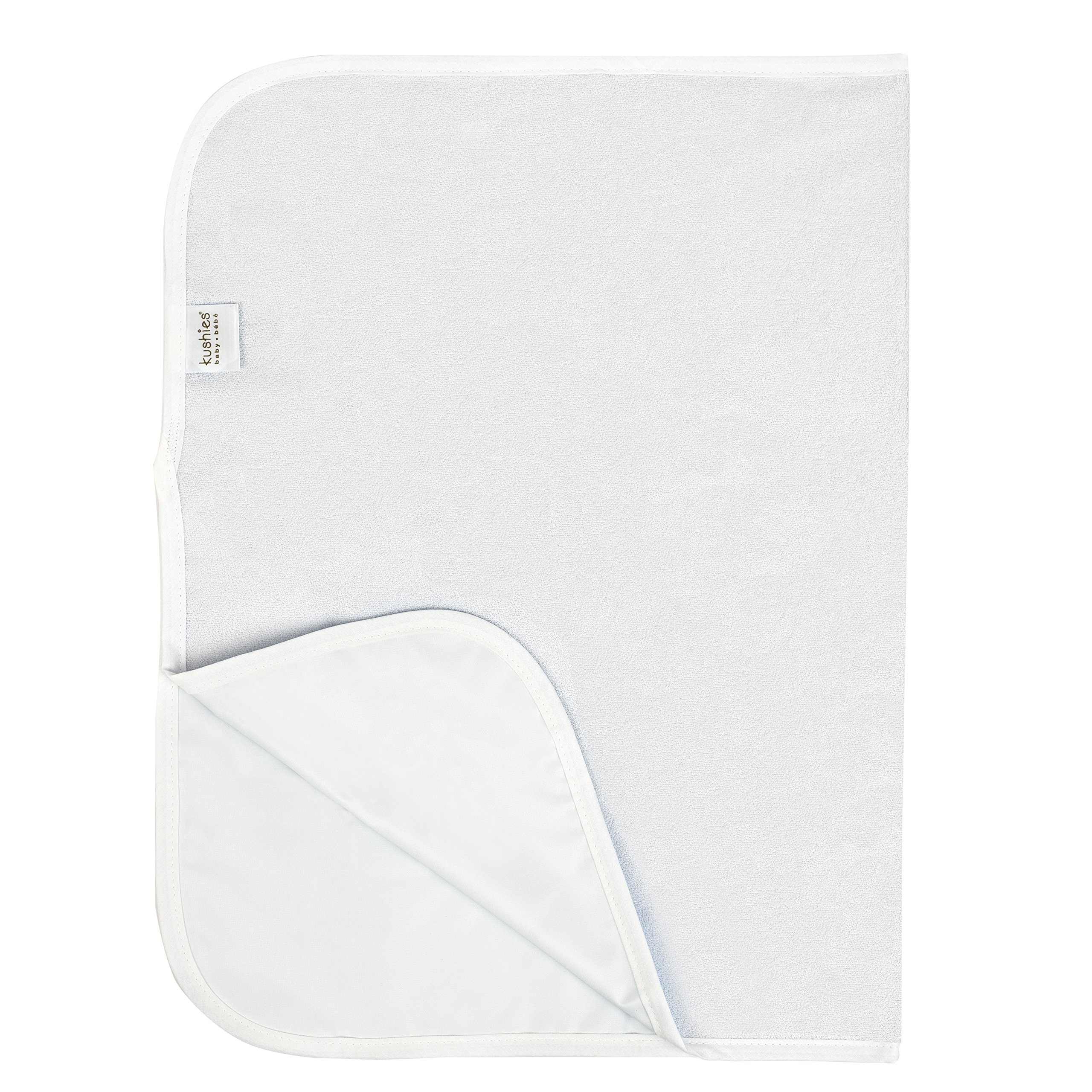 Kushies Baby Deluxe Change Pad Terry, White Solid