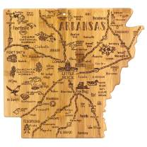 Totally Bamboo Arkansas State Destination Bamboo Serving and Cutting Board