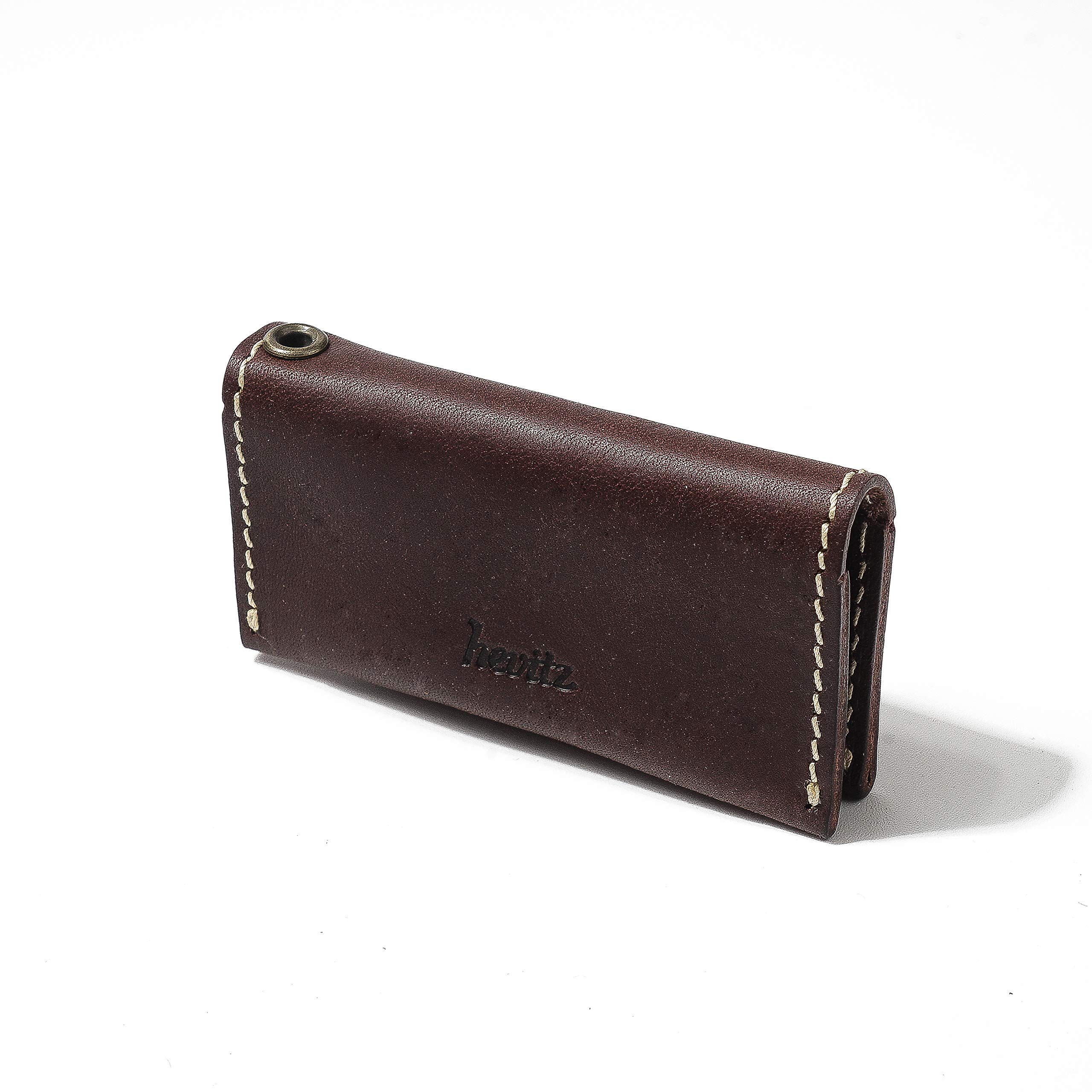 hevitz 3838 Leather Clamshell Pouch