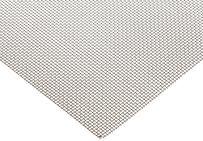"400 Nickel Woven Mesh Sheet, Unpolished (Mill) Finish, ASTM E2016-06, 12"" Width, 12"" Length, 0.023"" Wire Diameter, 52% Open Area"