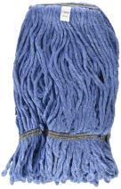 Winco Yarn Mop Head, 24-Ounce, 4 Ply Loop End, Blue