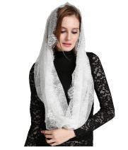 Catholic Veils Church Headwrap French Lace Mantilla Veil V46